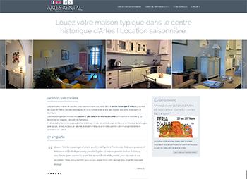 création site web de location saisonnière meublée