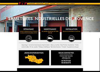 création site web de Fermeture Industrielles de Provence